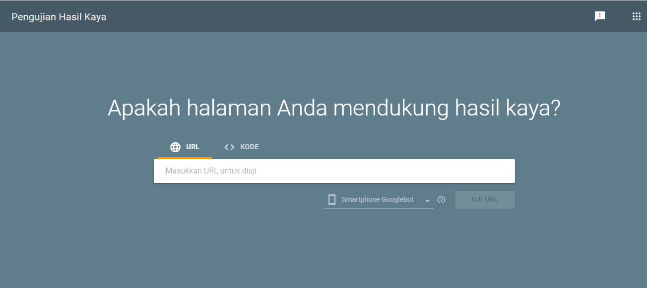 Pengujian Hasil Kaya Google 1